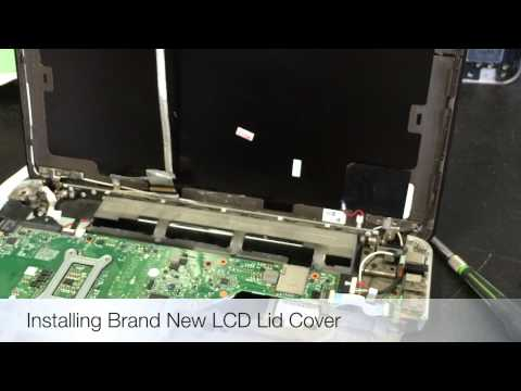 Special Touch Computer Repair of Omaha - HP Laptop New LCD, Hinges & Lid