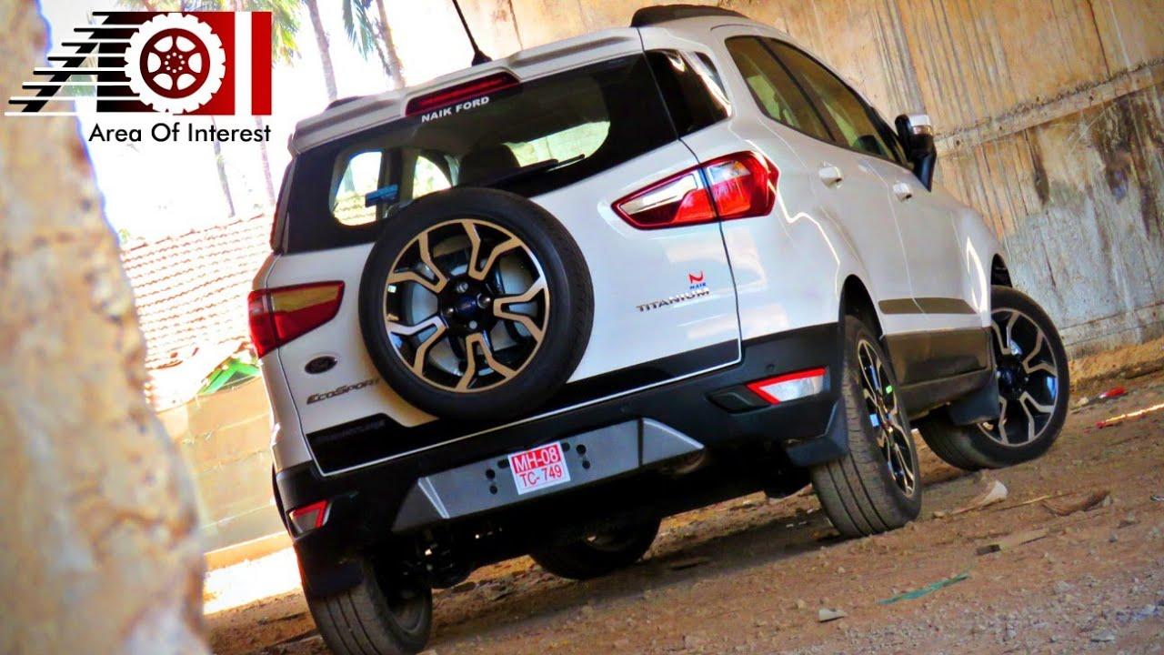 2019 Ford Ecosport Signature Edition Sunroof Price Mileage Features Specs Interior
