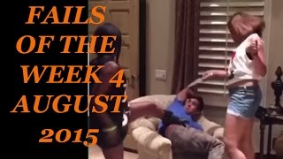 Best Fails of the Week 4 August 2015 || Funny Video