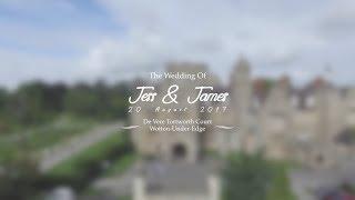 Jess & James | Wedding Film | Tortworth Court