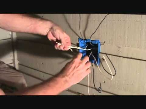Connecting a switch  plug combo to a GFCI receptaclePart 1 - YouTube