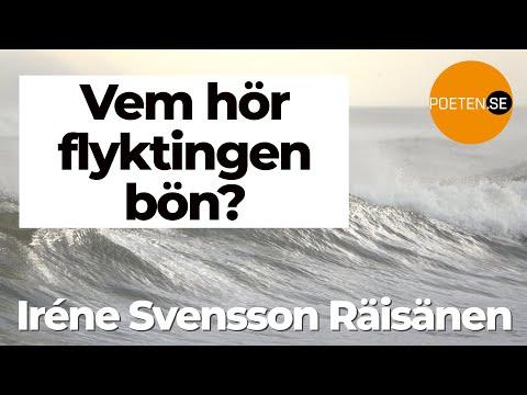 VEM HÖR FLYKTINGES BÖN? diktvideo av poeten Iréne Svensson Räisänen