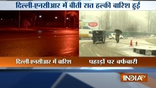 Delhi-NCR Witnesses First Winter Rains