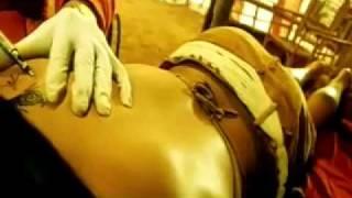 Back Of Sameera Reddy Tattoed in musafir