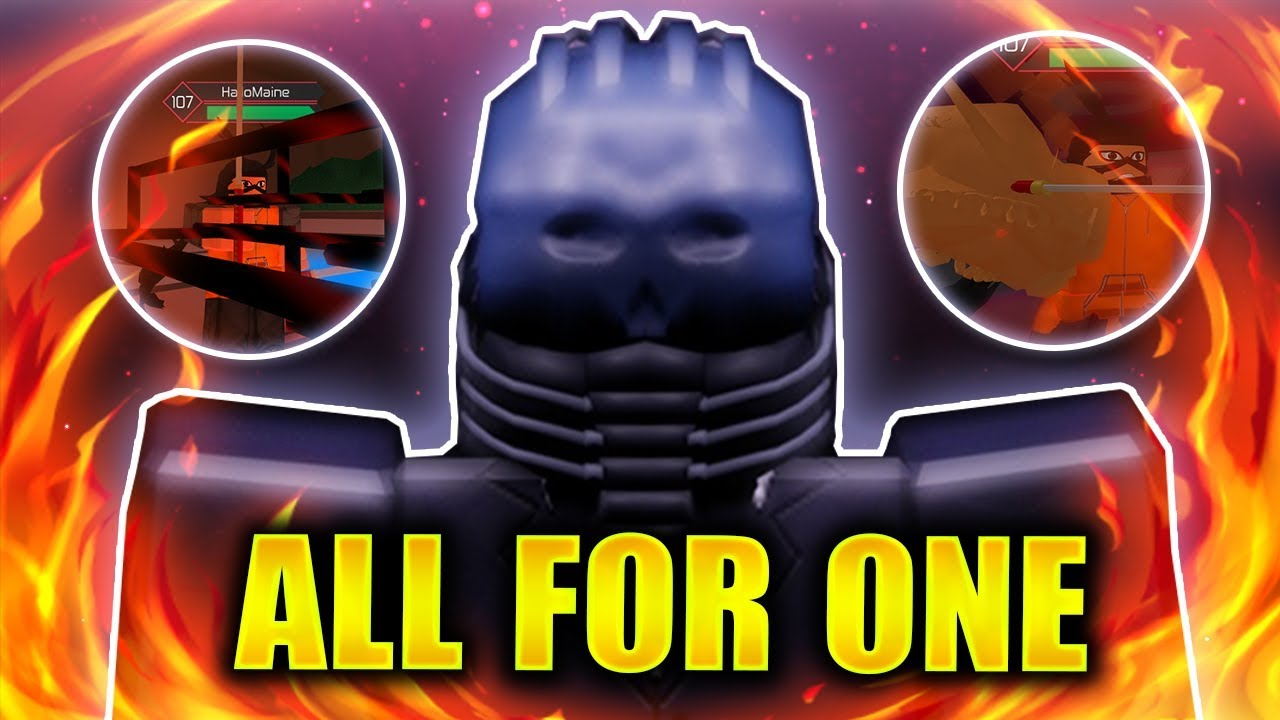 ALL FOR ONE   Stealing Quirks in Heroes Online   Roblox   iBeMaine