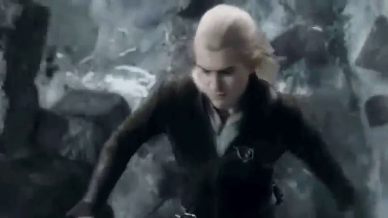 Legolas vs Bolg jumping scene with Mario Jump - YouTube