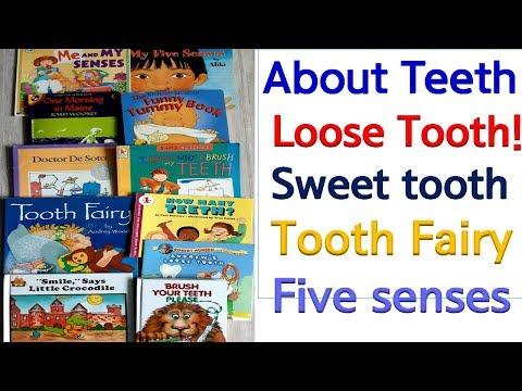 영어동화책 공부- About Teeth- Body Parts  이에 관한 단계별 책소개. Five Sense 오감각! thumbnail