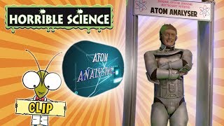 Horrible Science - Atom Analyser | Professor McTaggart's Inventions | Science for Kids
