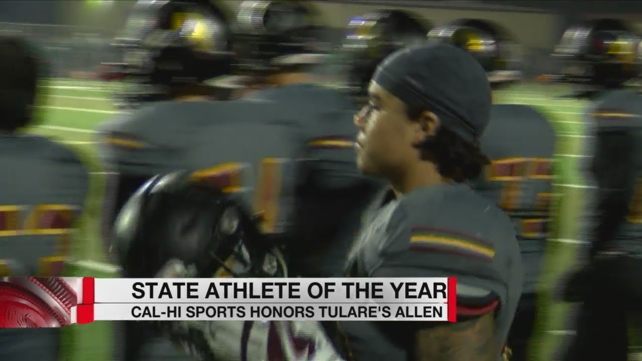 Tulare's Kazmeir Allen named Cal-Hi Sports' State Athlete of the Year
