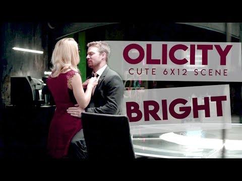 Olicity 6x12 Cute Hug Scene (Bonus: Honeymoon talk) [BRIGHT]