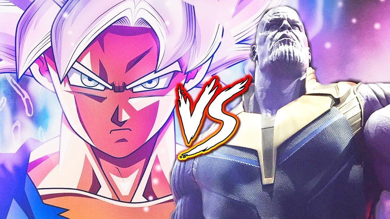 Goku Vs Thanos: GOKU VS THANOS! Dragon Ball Super X Avengers (Fan