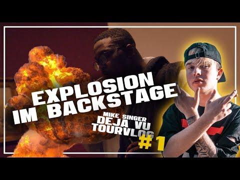 TOURVLOG #1 ✖️ EXPLOSION IM BACKSTAGE ✖️ MANNHEIM, LEIPZIG, STUTTGART