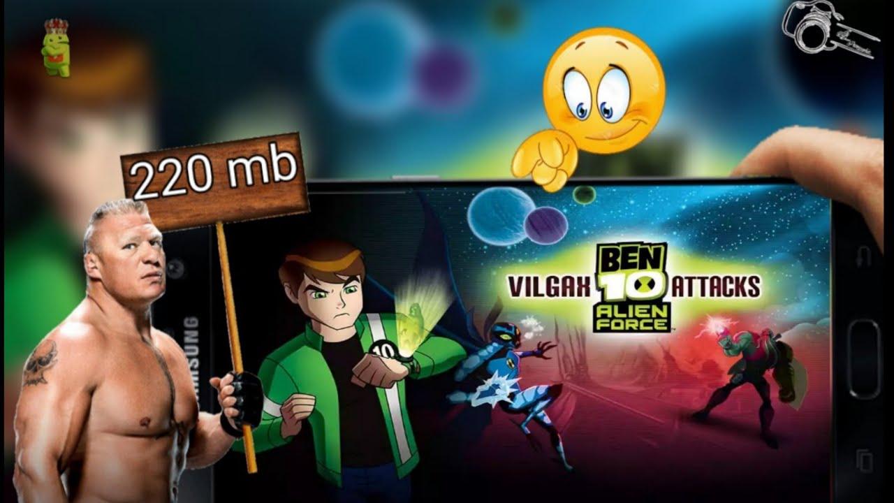 Download ben 10 alien force vilgax attacks in 100 mb