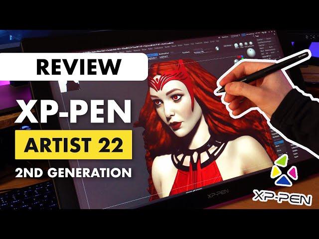 XP-Pen Artist 22 (2nd Gen) for 3D Sculpting