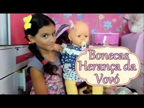 Bonecas -  Herança da Vovó - Isabela Vaidosa