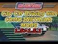 Como instalar autos en City Car Driving 2016