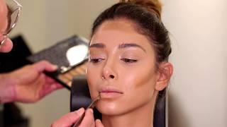 Nude glowy makeup - Fady Kataya / مكياج ترابي - فادي قطايا