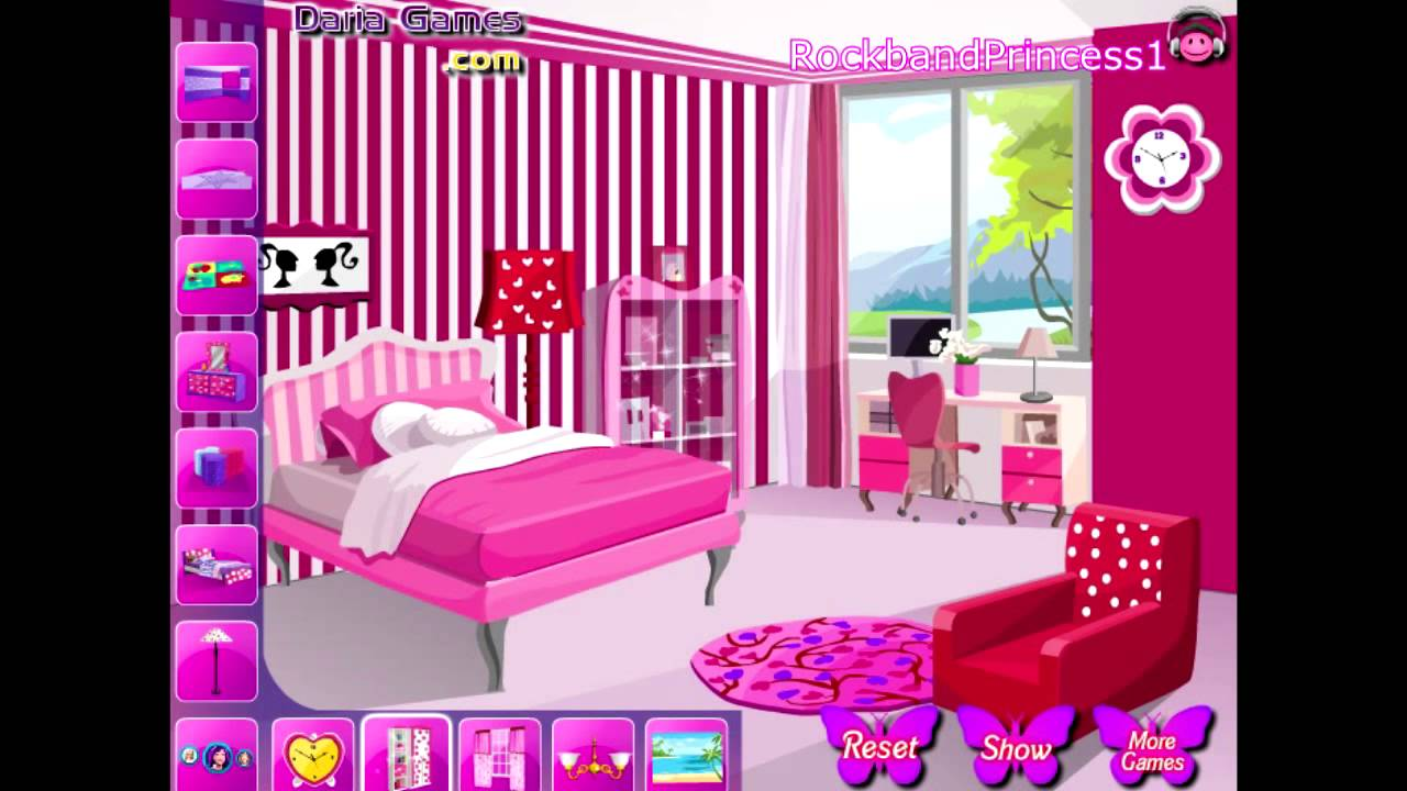 barbie room decor game - youtube