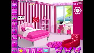 Barbie Online Games Barbie Games - Barbie House Decor Game - Barbie Decorate Bedroom Game