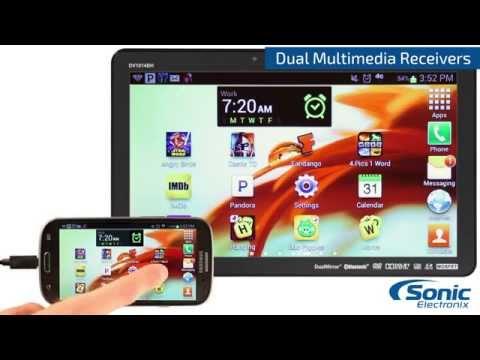 Dual DV Series Multimedia In-Dash Receivers