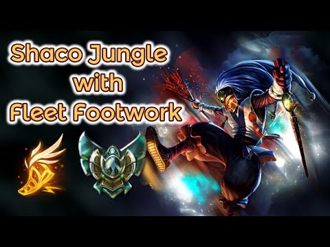Shaco Jungle with Fleet Footwork [League of Legends] Platin Gameplay - Infernal Shaco thumbnail