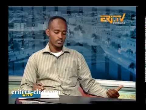 Eritrean Sport Interview About Football Premiere League with Tesfealm Cuba