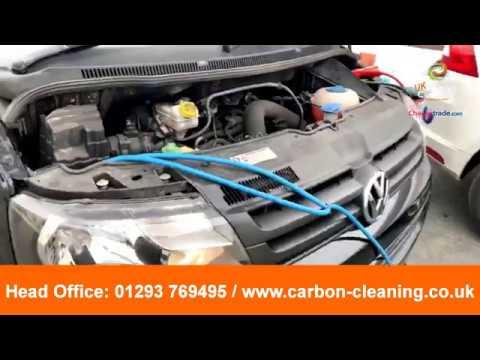 VW Transporter EGR carbon cleaning