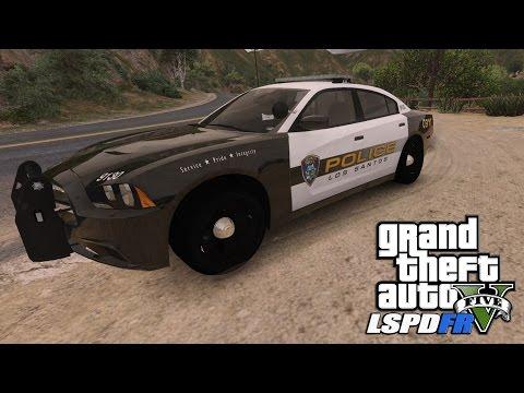 GTAV LSPDFR Rockford/Vinewood Hills Patrol - EP.139