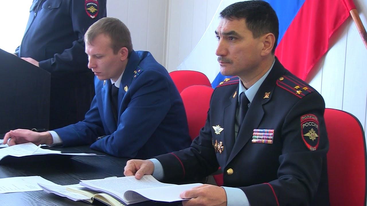 В отделе МВД по Быковскому району подвели итоги года