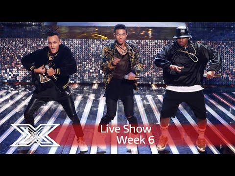 5 After Midnight perform an Earth, Wind & Fire mash-up! | Live Shows Week 6 | The X Factor UK 2016