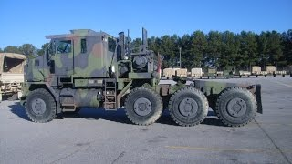 1997 Oshkosh M1070 Commercial Heavy Equipment Transporter on GovLiquidation.com