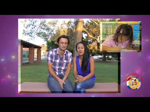 Kamil and Emmalia give a testimonial for The French American School of Arizona