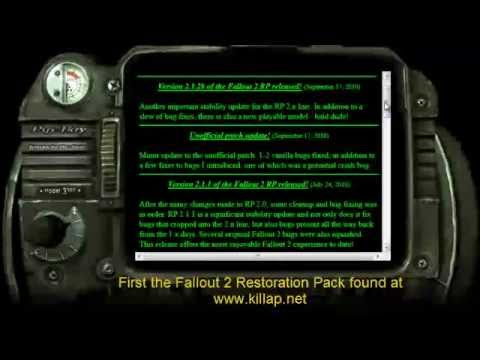Ultimate Fallout2 Restoration Project Working on Windows 7