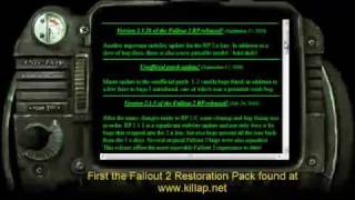 Ultimate Fallout2 Restoration Project Working on Windows 7 by PatchFix