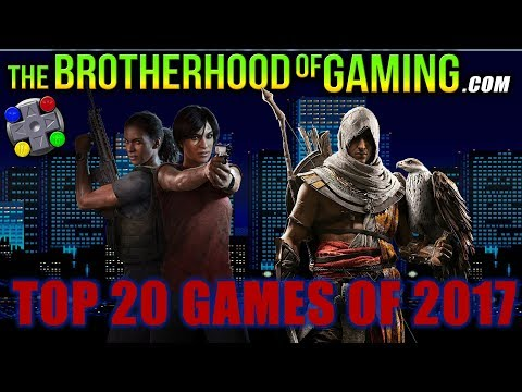 Top 20 VIDEO GAMES of 2017 // The Brotherhood of Gaming