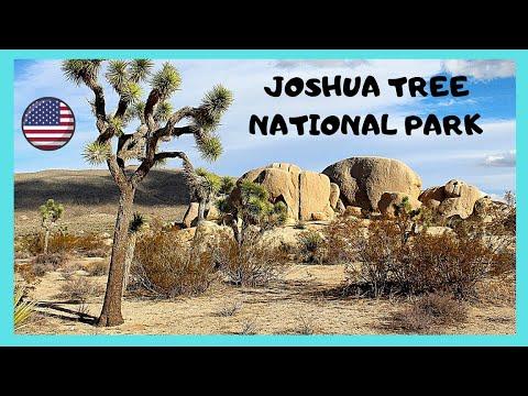 The incredibly beautiful JOSHUA TREE NATIONAL PARK, CALIFORNIA  (USA), a tour