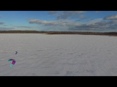 Great Start to the 2016 Snowkiting Season in Central Ontario!