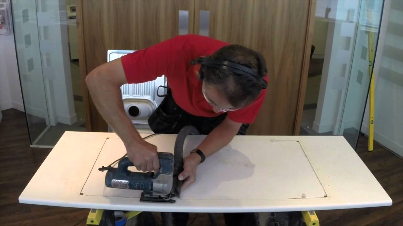 Fit Franke First - Installing an Inset Sink - YouTube