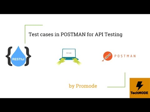 API Testing using POSTMAN - Advance Test Cases - YouTube