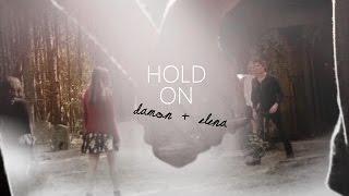 Damon + Elena | hold on [+8x16]