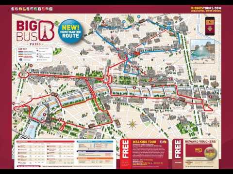 Paris map tour 2015