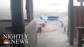 Florence's Dangerous Storm Surge Brings Life-Threatening Floods To Coastal N.C. | NBC Nightly News