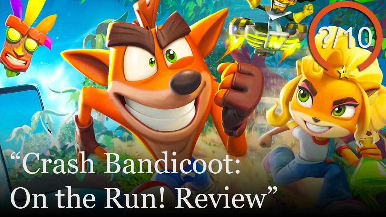 Crash Bandicoot: On the Run! Review [Android & iOS] (Video Game Video Review)