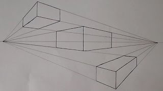 How To Draw In Two Point Perspective | Easy
