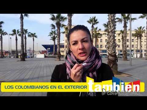 Opiniones de Colombianos en el Exterior.  España.