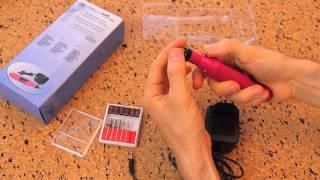 Портативный набор (фрезер) для маникюра и педикюра MPS-08(http://ladyvictory.lg.ua/id03088 Шлифовальная машина очень проста в эксплуатации. Используя ее, можно делать профессиона..., 2016-02-02T14:26:17.000Z)