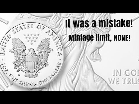 US Mint Said They Made A Mistake With The 200K Mintage For The 2020 S Proof American Silver Eagle.