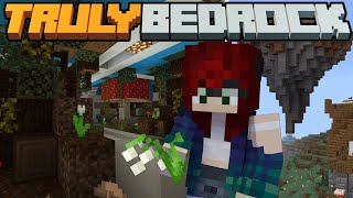 Nether Tunnels and Floating Shops! Truly Bedrock SMP | Season 1
