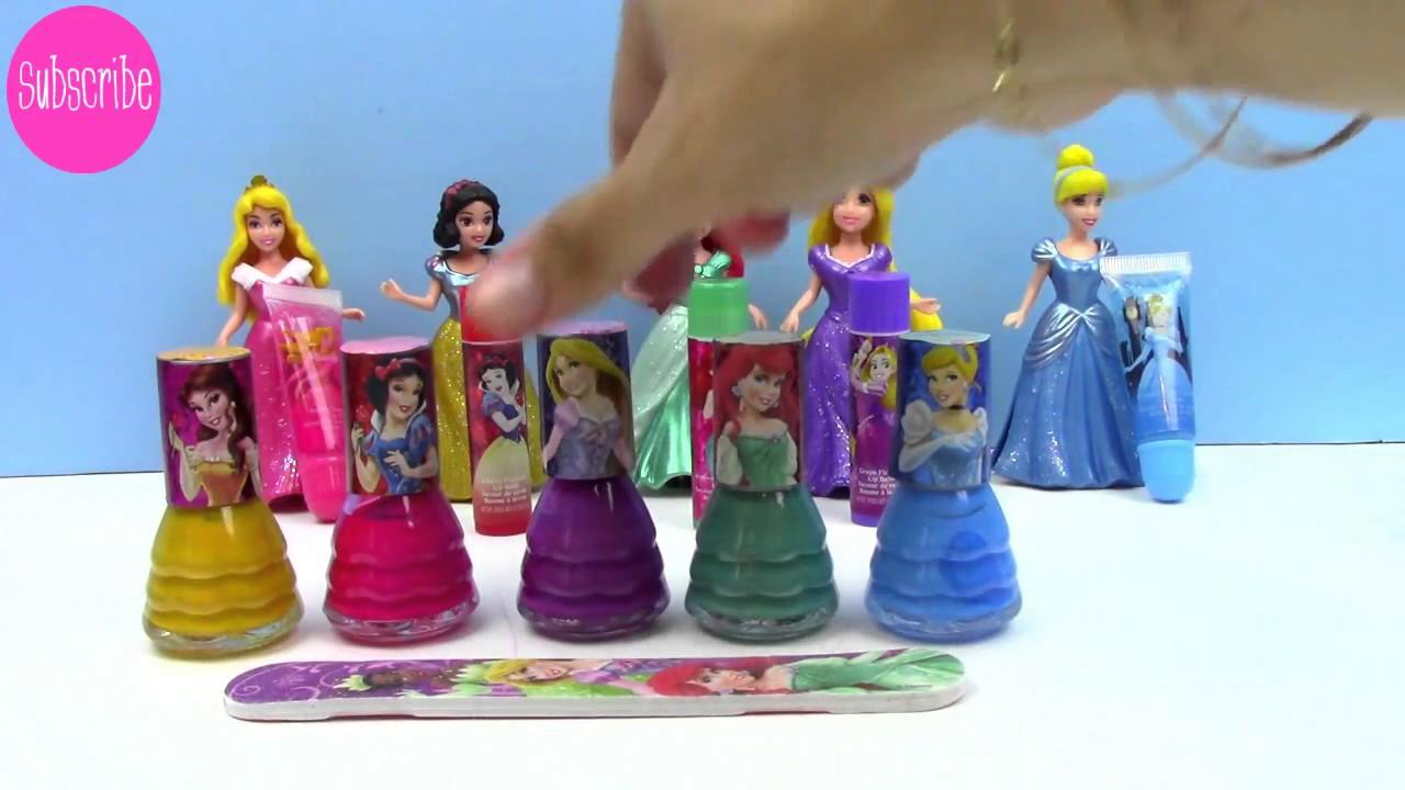 Disney Princess Nail Polish Games   Splendid Wedding Company