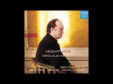 W. A. Mozart: Requiem Mass in D minor – Nikolaus Harnoncourt, 2004 (Audio video)